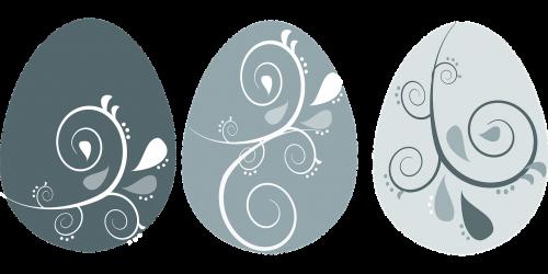 easter eggs flourish