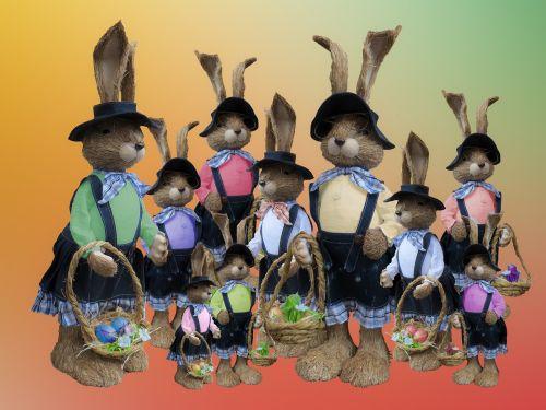 easter easter bunny easter eggs