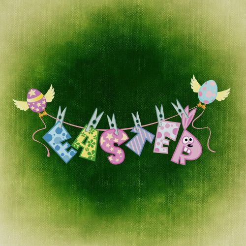 easter wishes greeting card