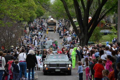 easter parade neighborhood