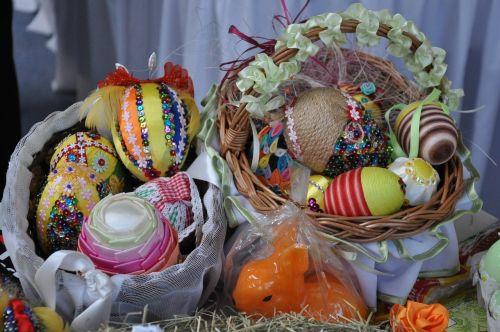 easter,handicraft,basket