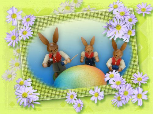 easter greeting card happy easter