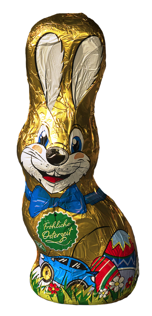 easter bunny tracy chocolate