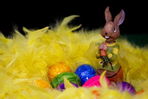 easter bunny  easter eggs  easter