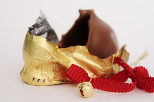 easter bunny chocolate packaging