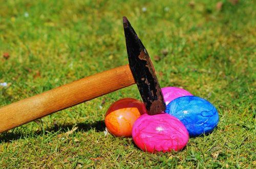 easter egg rush hammer