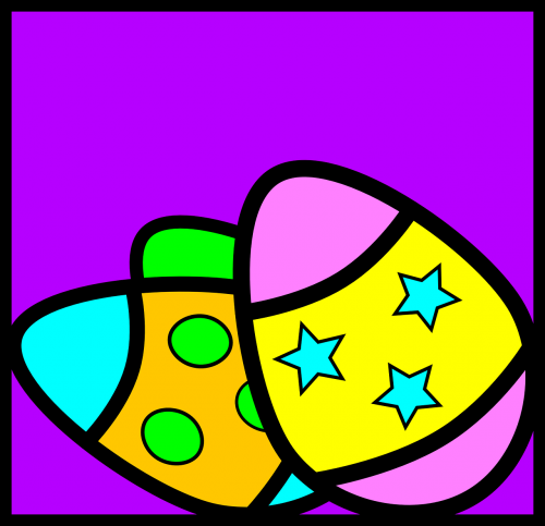 easter eggs colored eggs dyed eggs