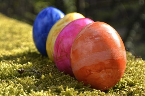 easter eggs easter colorful