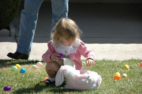 easter eggs search child