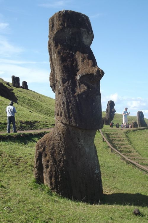 easter island rapa nui moai