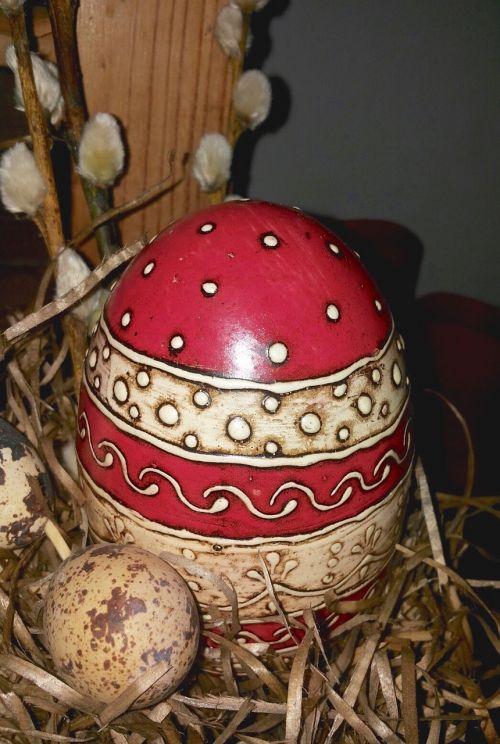 easter nest easter egg easter