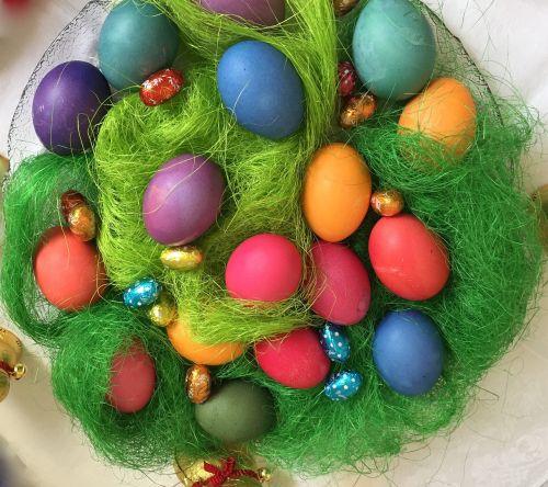 easter nest easter egg