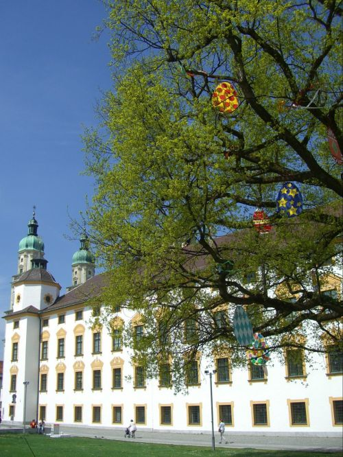 easter tree st lorenz