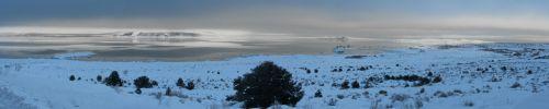 Eastern Sierra Winter - Mono Lake