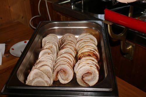 valgyti,mėsa,maistas,ruletė,Roll