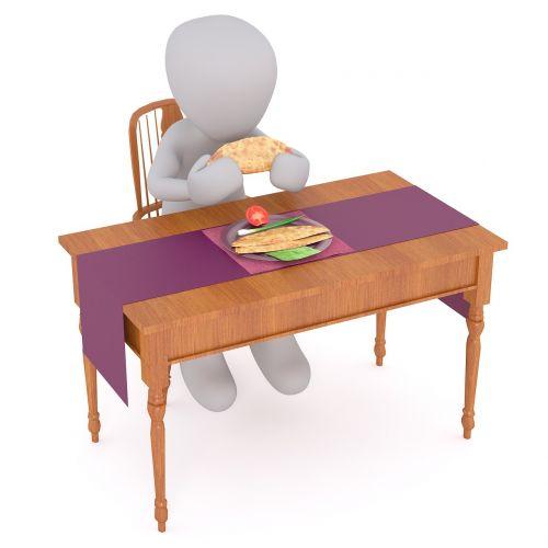 eat feast table