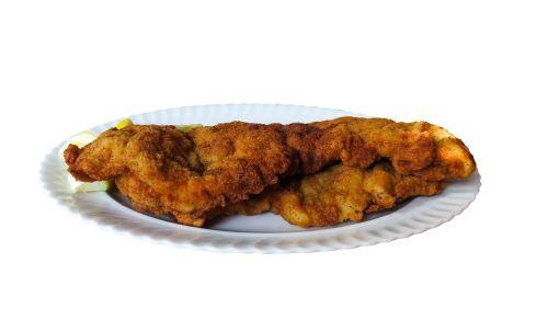 eat food schnitzel
