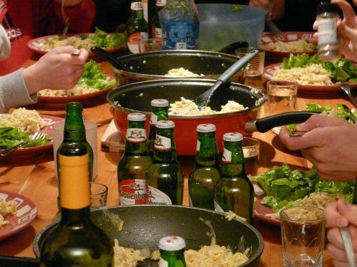 eat food celebration
