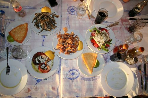eat dine calamaris