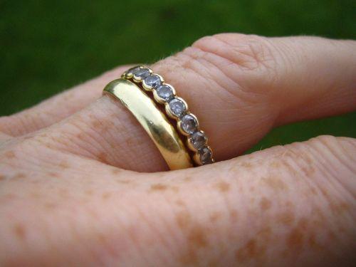 ebsen gold ring zirconia