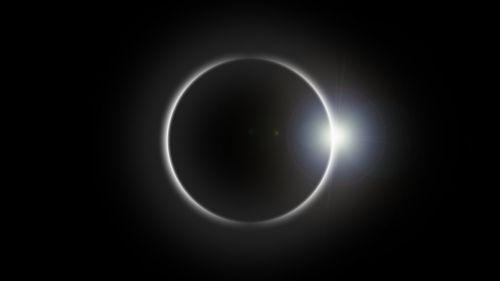 eclipse solar eclipse sun