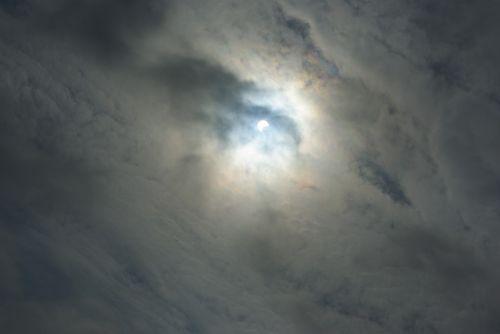 solar eclipse moon sun