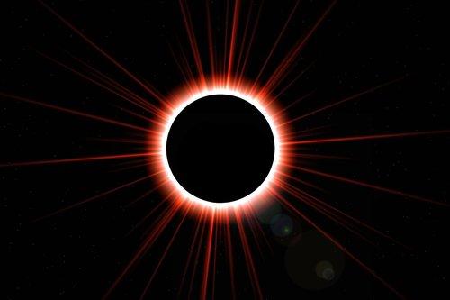 eclipse of the sun  solar eclipse  solar