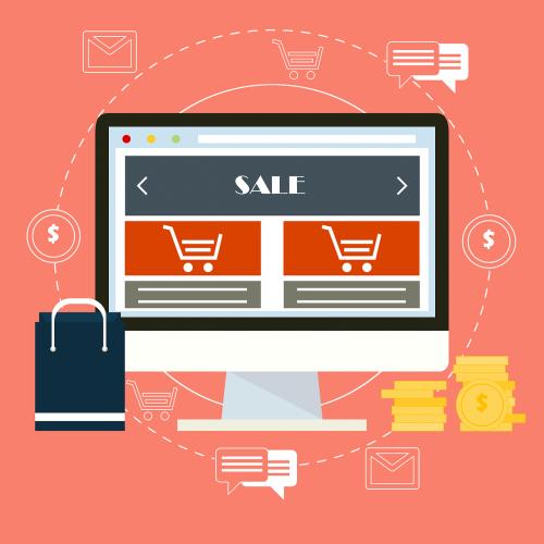 ecommerce online sales sales