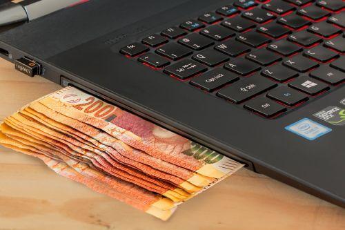 ecommerce computer cash