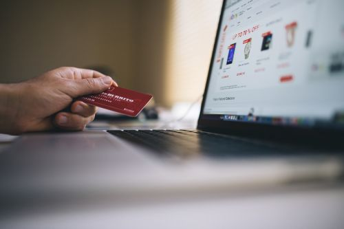 ecommerce shopping credit card