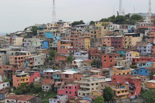 ecuador colorful homes
