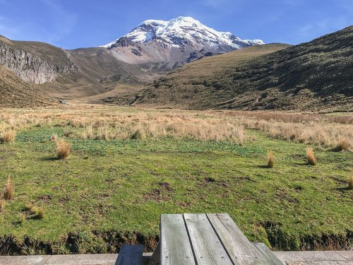 ecuador  landscape  plateau