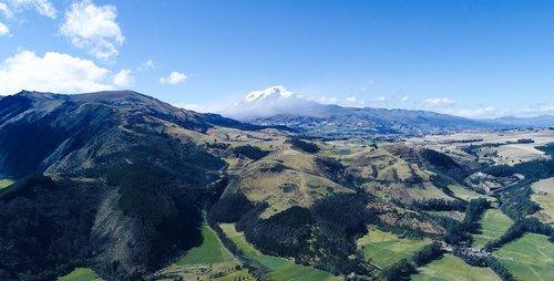 ecuador  hill  cayambe