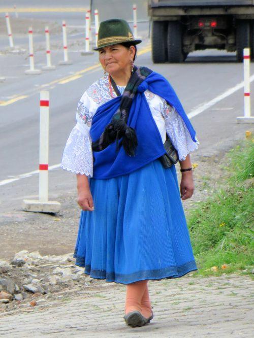 ecuador peasant riobamba