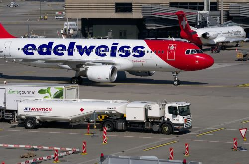 edelweiss aircraft airbus