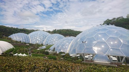 eden project dome greenhouse