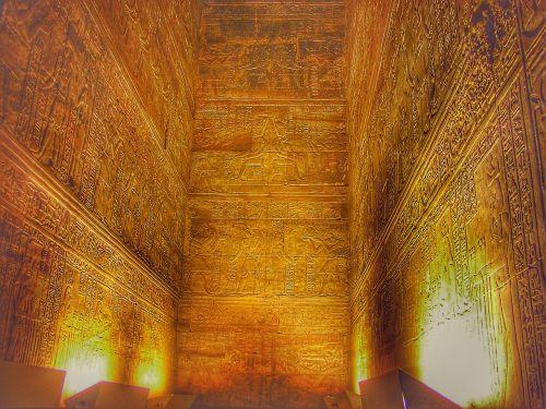 edfu egypt horustempel