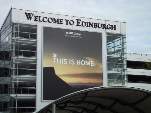 edinburgh airport arrival