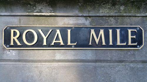 edinburgh scotland royal mile
