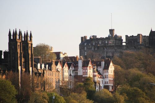 edinburgh edinburgh castle scotland
