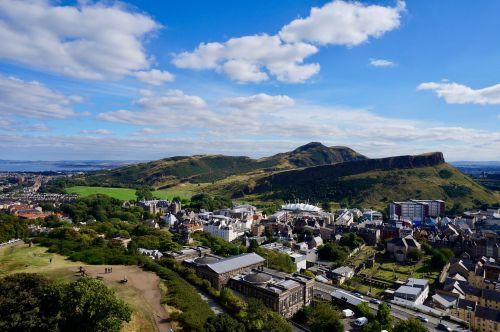 edinburgh arthur's seat hills