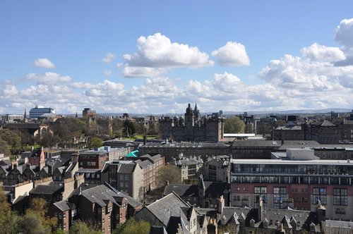 edinburgh  edinburgh castle  scotland