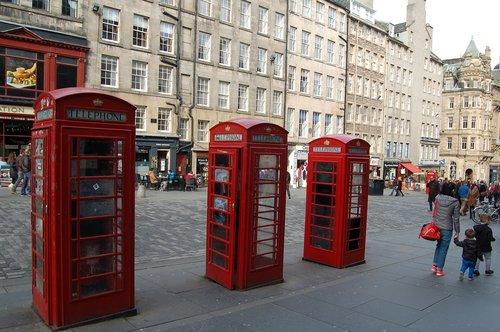 edinburgh  royal-mile  telephone