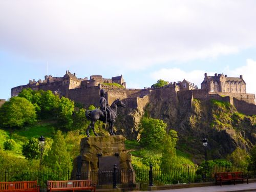 edinburgh castle scotland scotland edinburgh