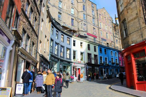 Edinburgh Shopping Victoria Street