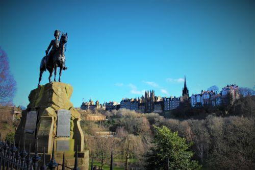 Edinburgh Skyline View