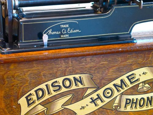 edison phonograph music