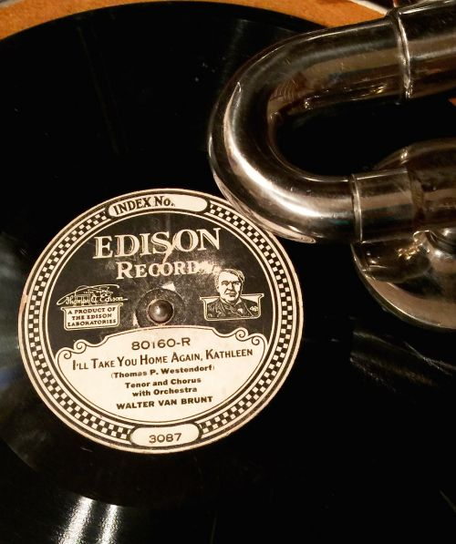 edison record phonograph