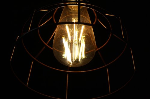 edison  lamp  light bulb