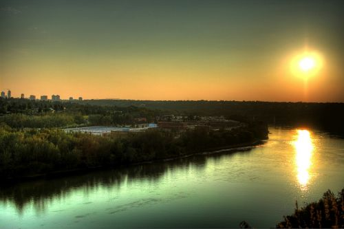edmonton canada saskatchewan river